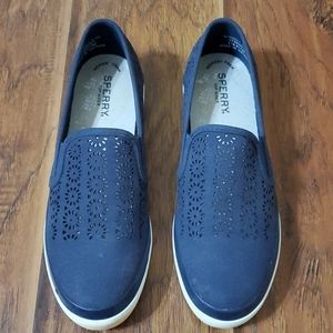 Sperry Cut Out Slip-ons